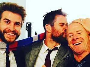 'Your dad is jacked': Hemsworth Sr's fit rig revealed