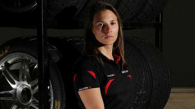 Supercars driver Simona De Silvestro.