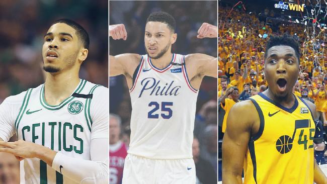 Ben Simmons, Donovan Mitchell and Jayson Tatum will fight it out to be Rookie of the Year.