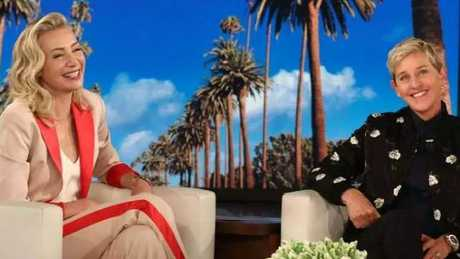 Portia de Rossi tells wife Ellen DeGeneres she has quit acting.  Picture:  Supplied