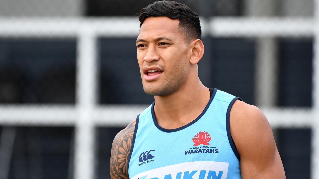 Israel Folau won't be playing on the wing under Michael Cheika.
