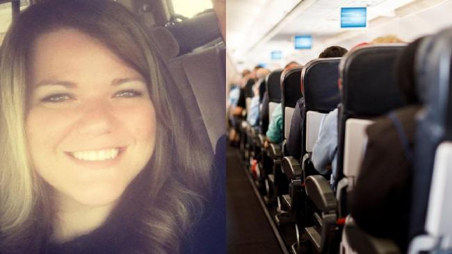 A woman was fat-shamed by a complete stranger on a plane. Picture: Savannah Phillips/iStock