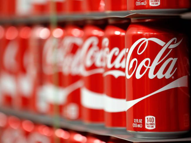 The company plans to reduce sugar levels by 10 per cent by 2020. Picture: AFP/Getty Images