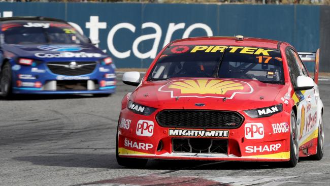 Scott McLaughlin sets the pace at Winton.