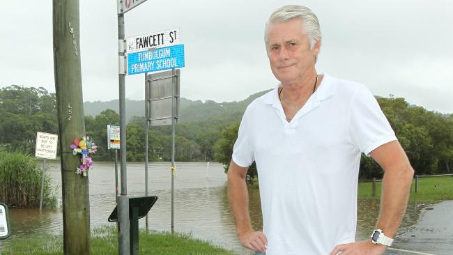 Tweed MP Geoff Provest pictured in Tumbulgum . Picture Mike Batterham