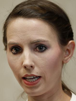 Former gymnast Rachael Denhollander was the first to make a criminal complaint to police in 2016. Picture: AP