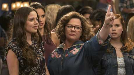 Molly Gordon, left, and Melissa McCarthy in Life of the Party. Image: Warner Bros