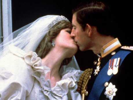 Diana and Charles at their wedding in 1981. Picture: Supplied