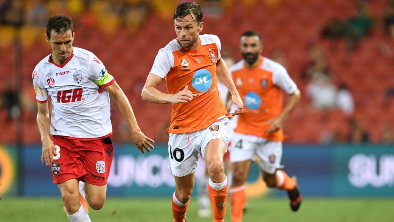 Brett Holman will be back in Roar colours for another season. Picture: Dan Peled/AAP