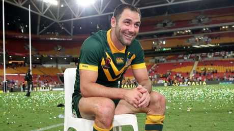 Cameron Smith had recently been left exhausted by his representative duties. Picture: Matt King/Getty Images