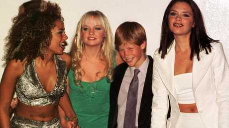 Harry's known the Spice Girls since he was a child. Picture: Getty