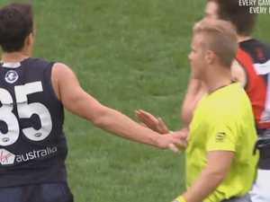 AFL split in 'rubbish' Curnow call