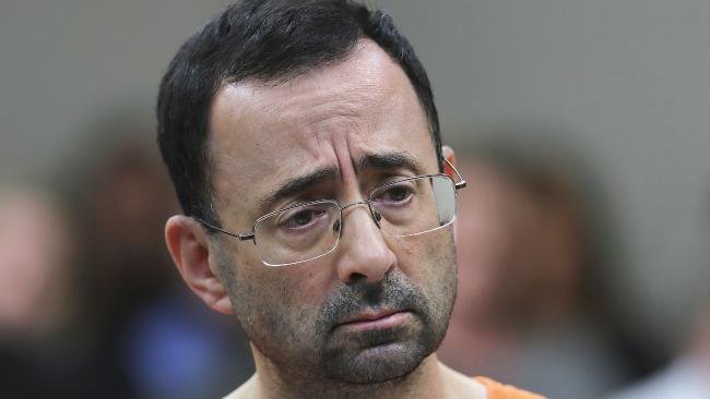 Michigan State University has reached a $500 million settlement with hundreds of women and girls who say they were sexually assaulted by Dr Larry Nassar in the worst sex-abuse case in sports history. Picture: AP