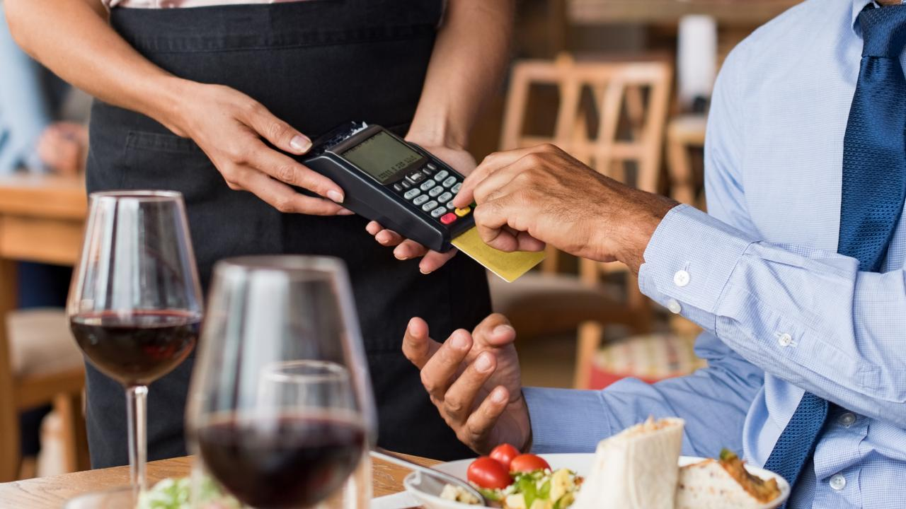 Millions of us are being guilt-tripped into leaving a tip — and Eftpos machines are servers' weapon of choice. Picture: iStock