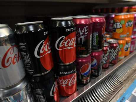 The company plans to reduce sugar content gradually. Picture: AFP/Paul Ellis