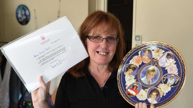 Royalist Julieanne Reid recently added a Harry and Meghan commemorative plate to her extensive royal collection.