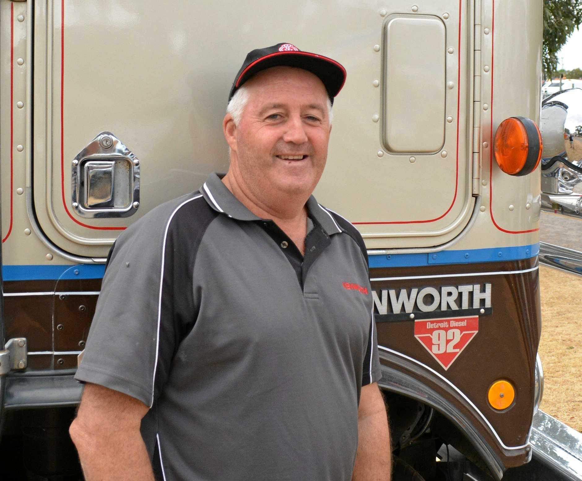 She's a Detroit! Don MacLean and his truck with the distinctive '92 badging.