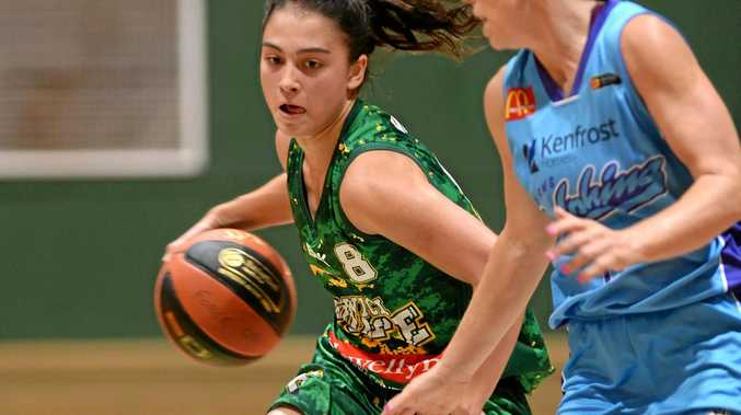 KEY ROLE: Fleet-footed Ipswich Force guard Kate Head is enjoying more court time in the state league this season.