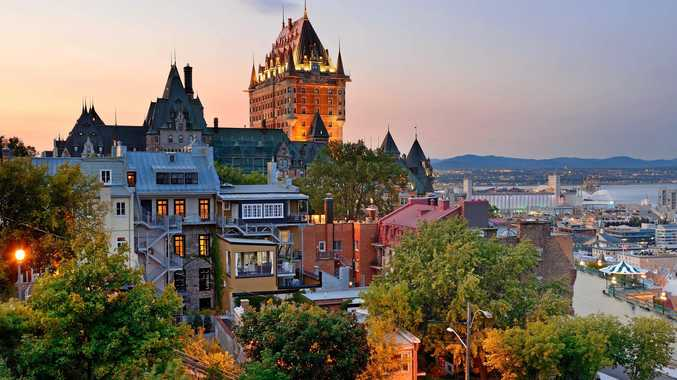 The old part of Quebec City is compact and therefore easily walked.