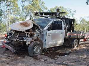 Woman taken to hospital after single vehicle crash