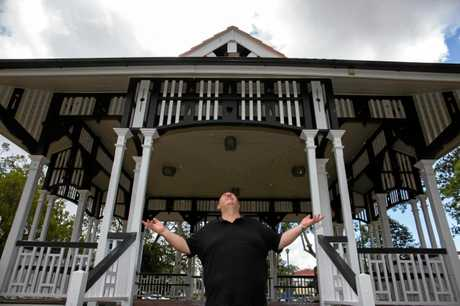 DIVINE INTERVENTION: Dean Comerford is hoping a little prayer can bring Gympie the rain it so desperately needs.