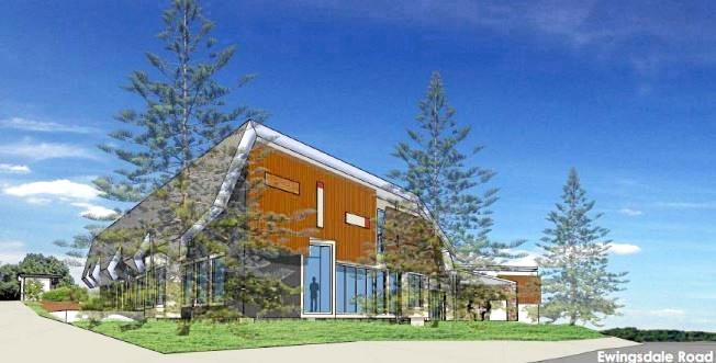 DIGITAL impression of the proposed $8 million Byron private hospital at Ewingsdale.