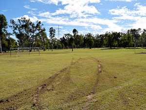 Rocky sports fields targeted by vandals overnight