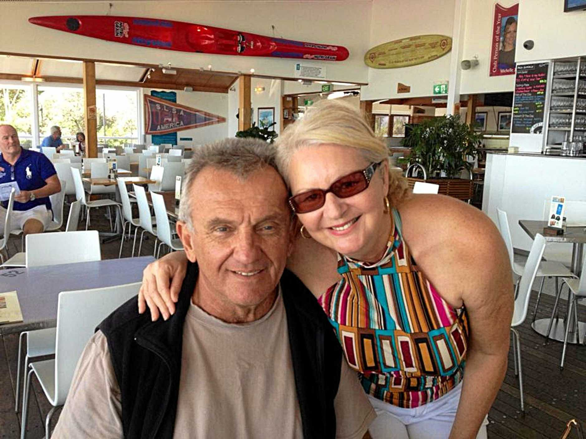 Facebook photos of George Gerbic and Lindy Williams.