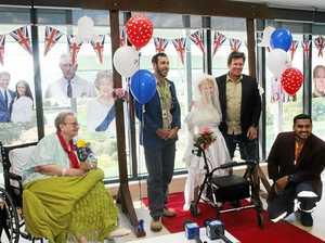 Rocky's geriatric ward receives the royal treatment