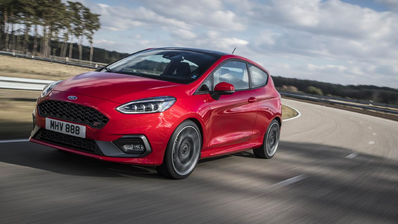 The new Ford Fiesta ST has just gone on sale in Europe. It's due in Australian showrooms in March 2019. Picture: Supplied.