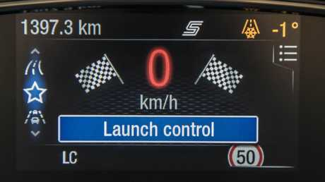 The Ford Fiesta ST has launch control for the first time. Picture: Supplied.