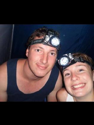Stephanie Scott with fiance Aaron Leeson-Woolley.