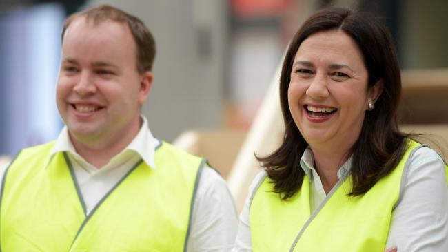 Queensland Premier Annastacia Palaszczuk. (AAP Image/Tracey Nearmy)