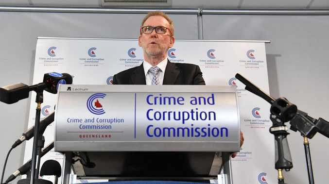 Crime and Corruption Commission's Alan MacSporran.