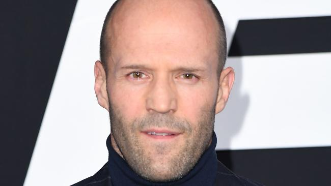 Jason Statham has apologised after being accused of making homophobic comments on a movie set. Picture: AFP/Angela Weiss