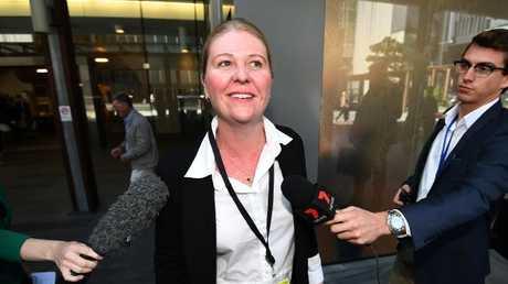 Gold Coast City Councillor Kristyn Boulton (AAP Image/Dan Peled)