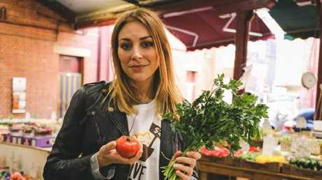Australian actor Kate Jenkinson tried to survive eating for five days with just $2 to spend each day.