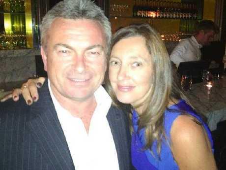 Borce and Karen Ristevski were married for around 25 years before she vanished on June 29, 2016. Picture: Facebook