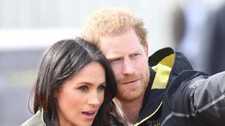 Meghan Markle and Prince Harry will marry on Saturday. Picture: Chris Jackson/Getty Images