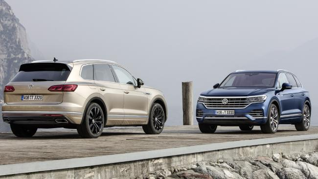 VW Touareg: From about $75,000