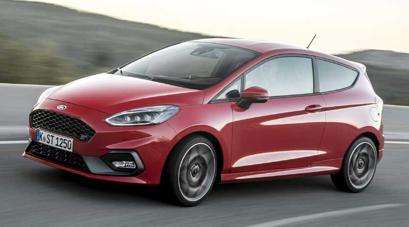 The new generation Ford Fiesta ST has turbo three-cylinder power. Picture: Supplied.