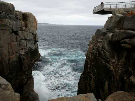 The fall from the viewing tower is approximately 40 metres. Picture: Colin Murty