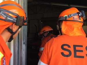 EXCLUSIVE: SES explosion drill