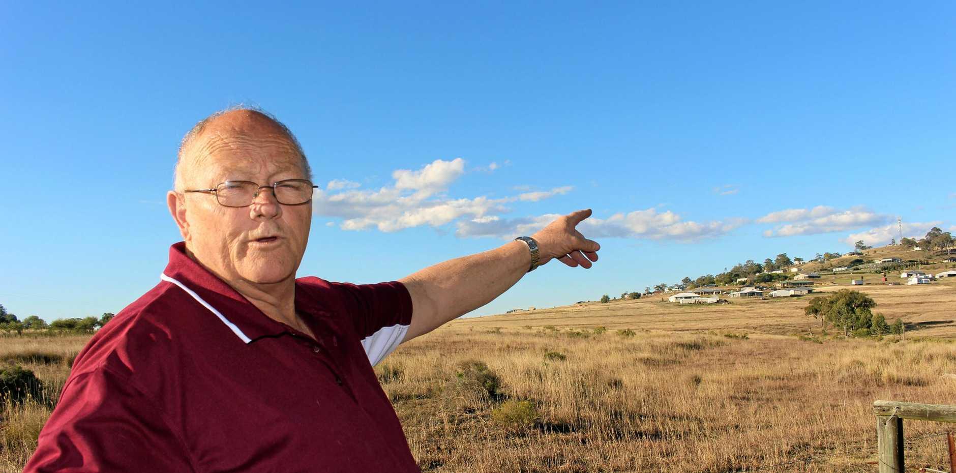 LOOKING ON THE SUNNY SIDE: Alwyn Cutmore said embracing a multi-million dollar solar farm could help the Warwick community move forward.
