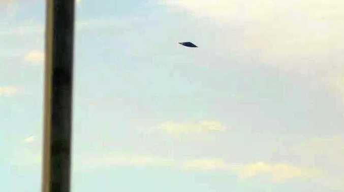 It's a bird, it's a plane, it's a... UFO in Gympie?