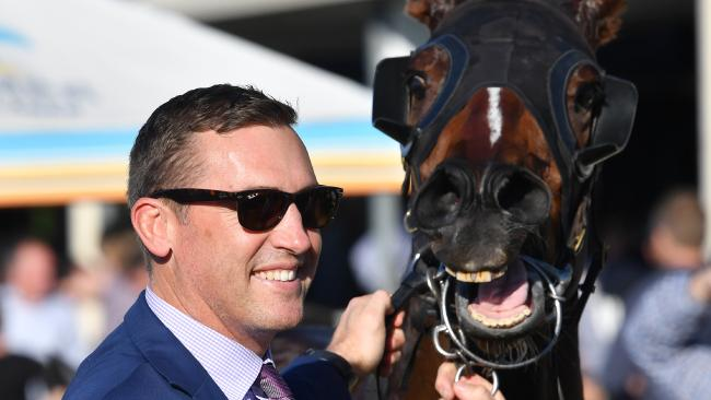 Trainer Tony Gollan is refusing to rush things. Picture: AAP