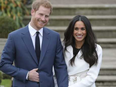 Britain's Prince Harry and his fiancee, US actor Meghan Markle, will marry in St George's Chapel at Windsor Castle. Picture: AFP