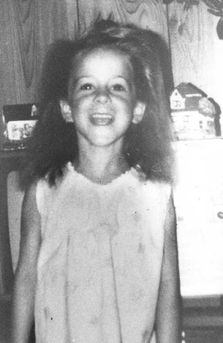 Lauren Hickson before her abduction and murder by Towner near the Nepean River Caravan Park.