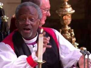Unexpected scene-stealer at royal wedding