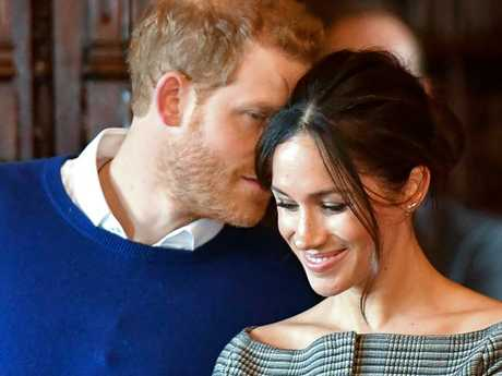 Prince Harry and Meghan Markle's vows have been revealed. Picture: AFP